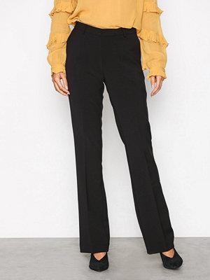 Neo Noir svarta byxor Cassie Solid Pants Black