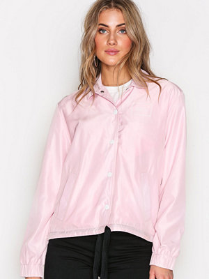 Cheap Monday omönstrad bomberjacka Coach jacket Square logo Pale Pink