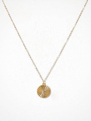 Pieces halsband Pcmalina Necklace Pb Guld