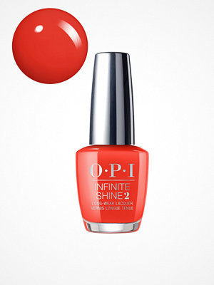 Naglar - OPI Infinate Shine - Lisbon Collection A Red-vival City