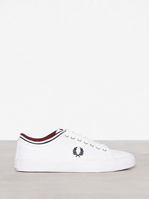 Fred Perry Kendrick Tipped Canvas Vit
