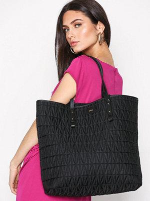 Dagmar Quilted Shopping Bag Svart