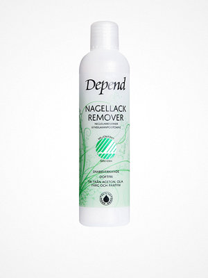 Naglar - Depend Nail Polish Remover - Miljömärkt 250ml Transparent