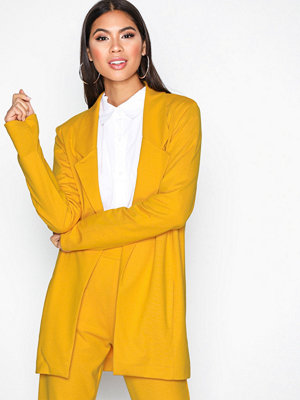 NLY Trend Perfect Jersey Blazer Mustard