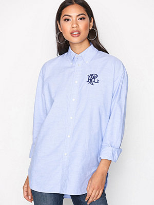 Polo Ralph Lauren Button Down Relaxed Shirt Blue