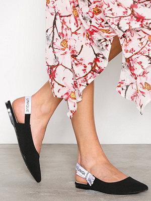 NLY Shoes Slingback Ballerina Svart