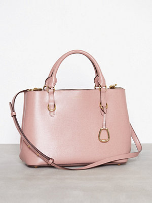 Lauren Ralph Lauren Satchel Tote Medium Rosa