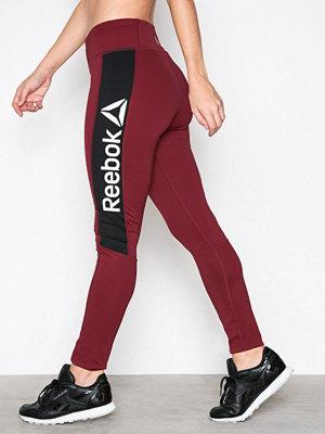Sportkläder - Reebok Performance Wor Delta Tight Vinröd