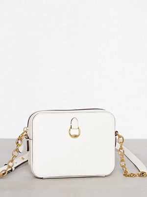 Lauren Ralph Lauren vit axelväska Small Camera Crossbody Cream