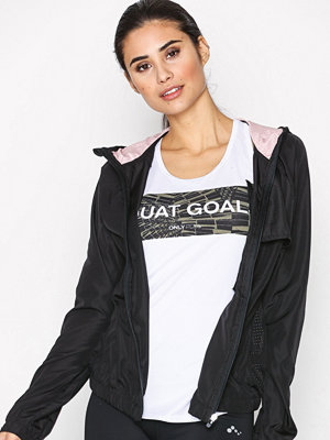Sportkläder - Only Play onpFANNIE Hood Jacket Svart
