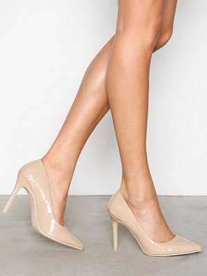 NLY Shoes Slim Pump Sand Beige
