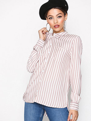Jacqueline de Yong Jdyakira L/S Pocket Shirt Wvn Ljus Lila
