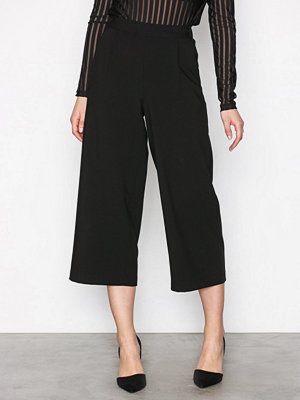 Vero Moda svarta byxor Vmcoco Hw Culotte Pants Noos Svart