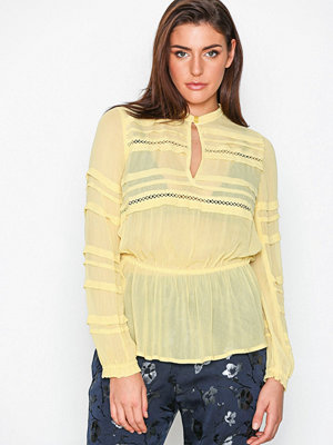 Blusar - Munthe Terrence Blouse Yellow