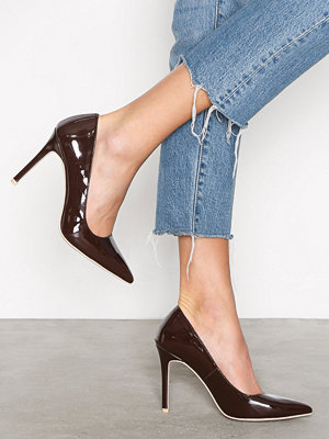 Pumps & klackskor - NLY Shoes Slim Pump Dark Brown