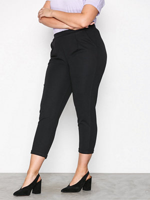 NLY Trend svarta byxor Perfect Jersey Suit Pants Svart