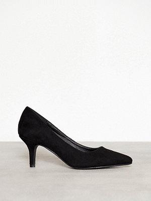 NLY Shoes Mid Heel Pump Svart