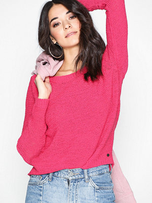 Only onlGEENA Xo L/S Pullover Knt Noos Rosa
