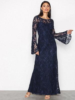 Lauren Ralph Lauren Laisena Evening Dress Indigo