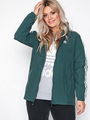 Adidas Originals omönstrad bomberjacka Stadium Jacket Grön