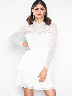 Neo Noir Adette Dress White
