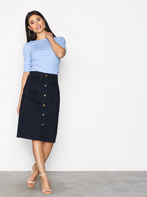 Polo Ralph Lauren Pencil Skirt Indigo