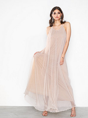 Missguided Mesh Drop Back Maxi Dress