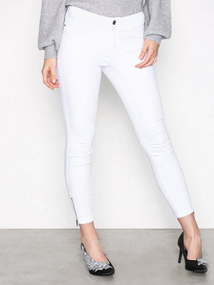 Vero Moda Vmseven Nw Ss Zip Ankle White VI609 Vit