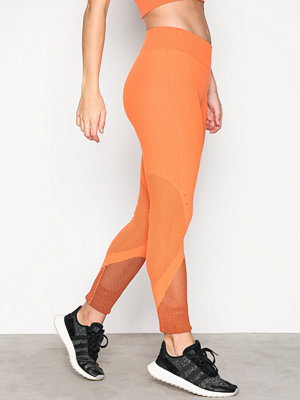 Sportkläder - adidas Sport Performance Wrap Knit Tight Orange
