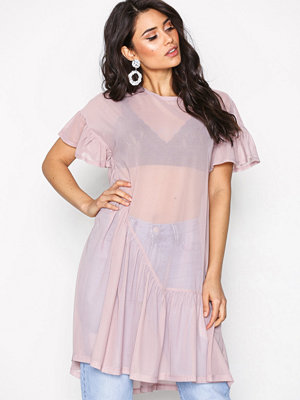 NLY Trend Cute Mesh Flounce Dress