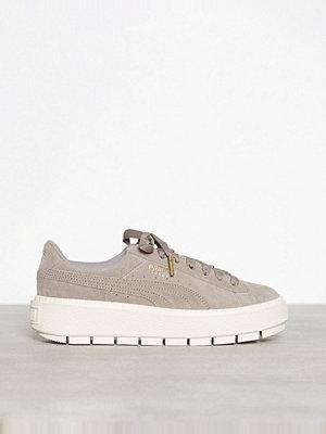 Sneakers & streetskor - Puma Suede Platform Trace Rock Ridge