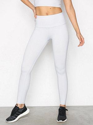 Sportkläder - NLY SPORT All The Way Up Pants Ljus Grå