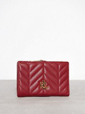 Lauren Ralph Lauren New Compact Wallet Röd