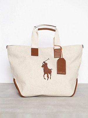 Polo Ralph Lauren Market Tote Large Natural
