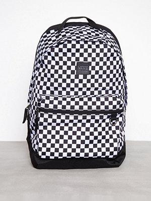 Vans rutig ryggsäck Tiburon Backpack Svart/Vit