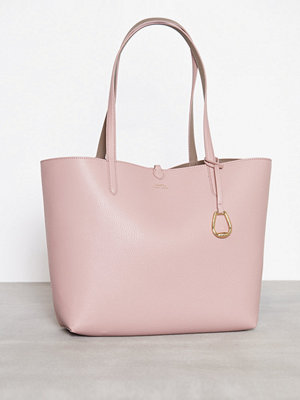 Lauren Ralph Lauren Reversible Tote Medium Rose