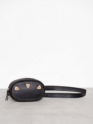 Topshop axelväska Panther Belt Bag Black