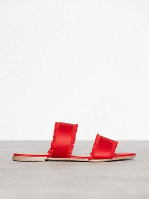 Sandaler & sandaletter - Pieces Psmio Sandal Mörk Röd