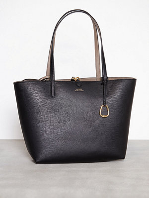 Lauren Ralph Lauren Reversible Tote Medium Svart