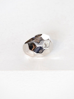 SOPHIE By SOPHIE Hammered Ring Silver