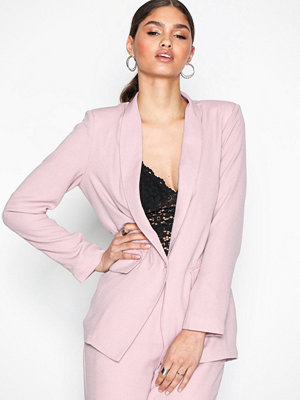 NLY Trend The It Blazer Ljus Rosa