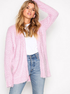 NLY Trend Cosy Cardigan Ljus Rosa