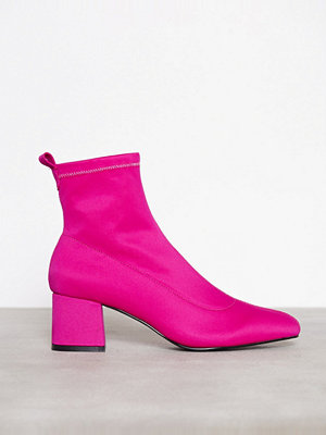 Topshop Buttercup Sock Boots Pink