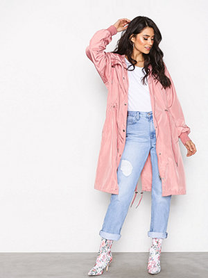 NLY Trend Break The Wind Jacket Ljus Rosa