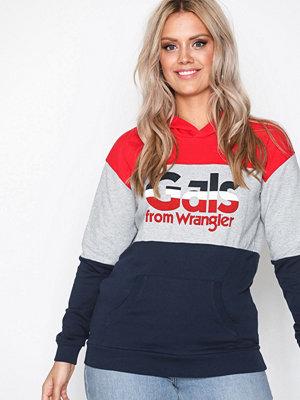 Wrangler Kabel Hoodie Navy