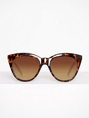 Solglasögon - Pieces Pcmelika Sunglasses Mörk Brun
