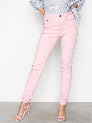 NLY Trend Superstretch High W Denim Rosa