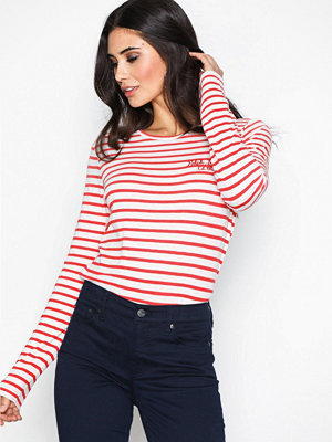 Polo Ralph Lauren Longsleeve Stripe Knit Red