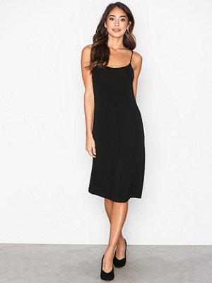 Filippa K Jersey Crepe Strap Dress Black