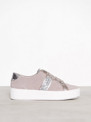 Sneakers & streetskor - MICHAEL Michael Kors Poppy Stripe Lace Up Pearl Grey